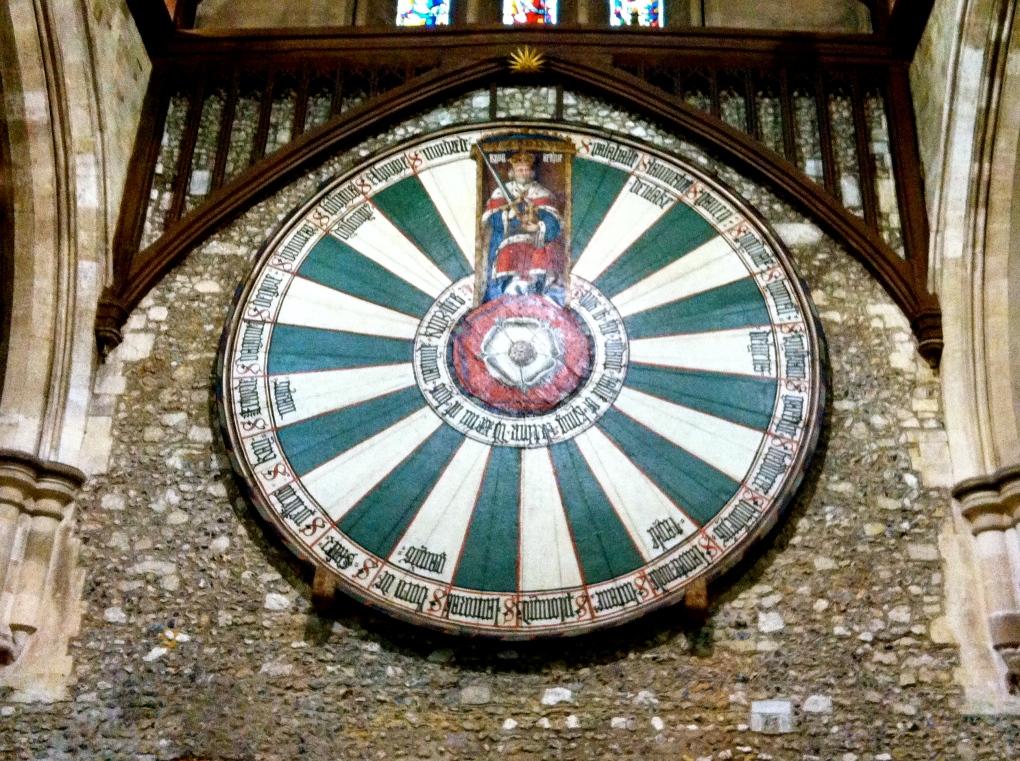 King Arthur's round table   nadinesteiner